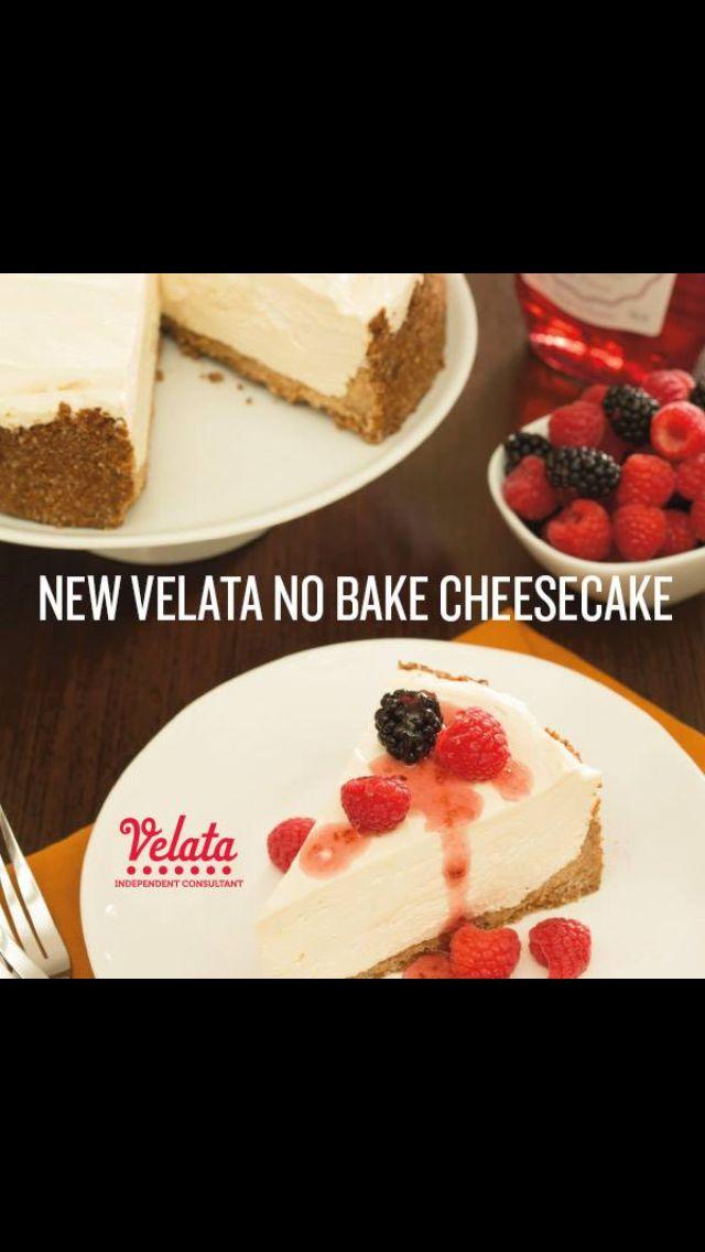 New Velata No Bake Cheesecake Peggylewis Velata Us Baking