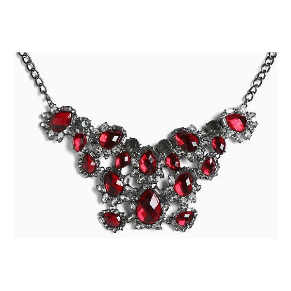 Torrid Gemstone Cluster Short Necklace (€13) ❤ liked on Polyvore featuring  jewelry 1e366532800b