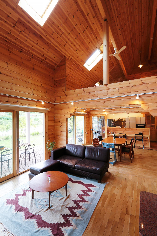 宿泊可能なゲストルームを併設した大型住宅 ゲストルーム ベッド
