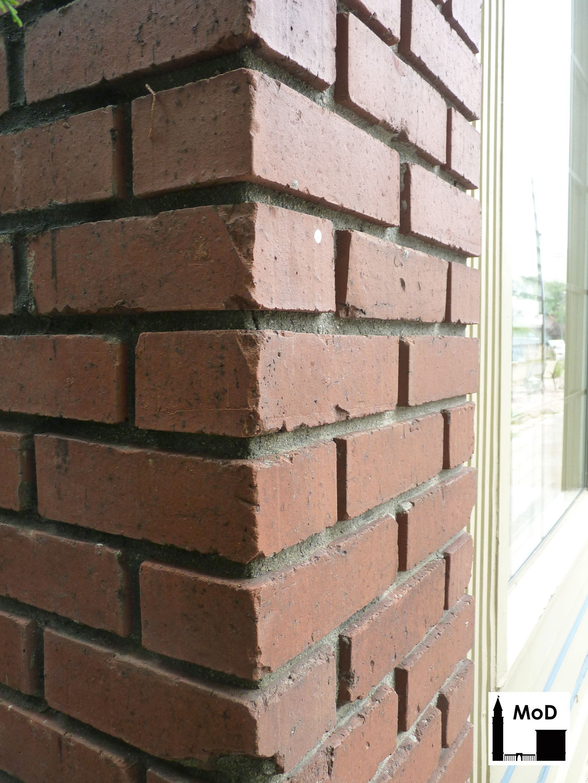Recessed Mortar On A Brick Wall Denver Ca 1920s Mortar Masonry Historical Architecture