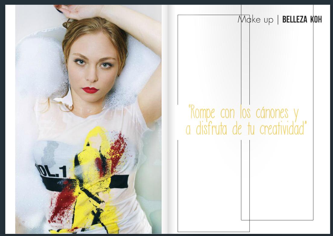 #Kohmagazine #flashmob #maquillaje