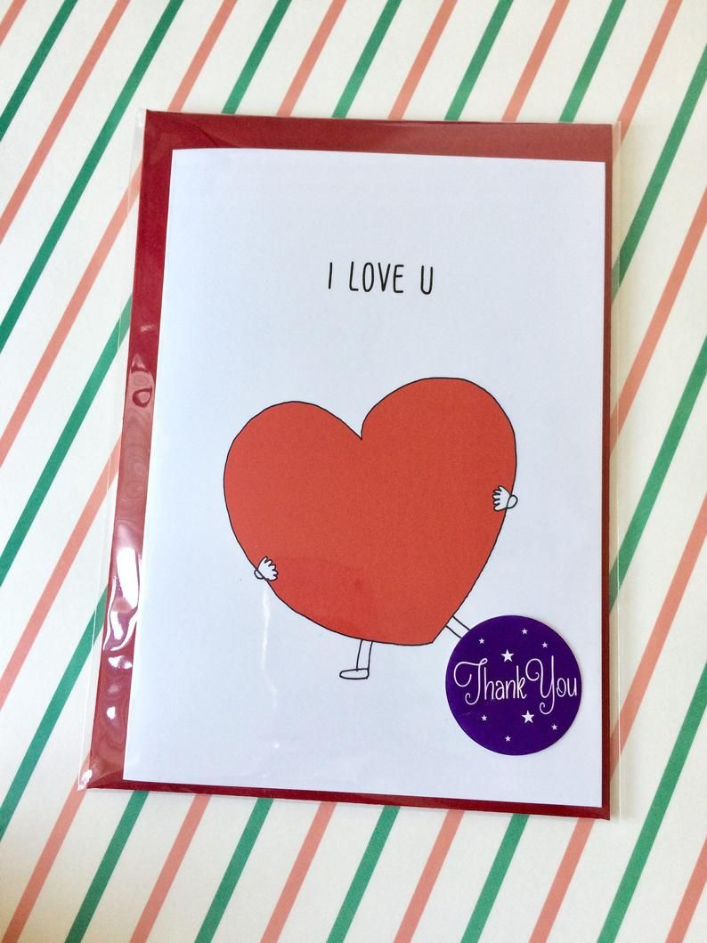 Funny i love you card funny love card card for boyfriend