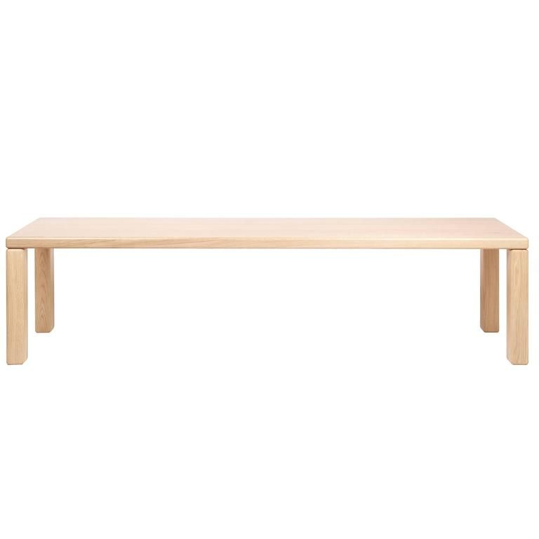 Alias Oak Element Bench by Terrence Woodgate, Belgium