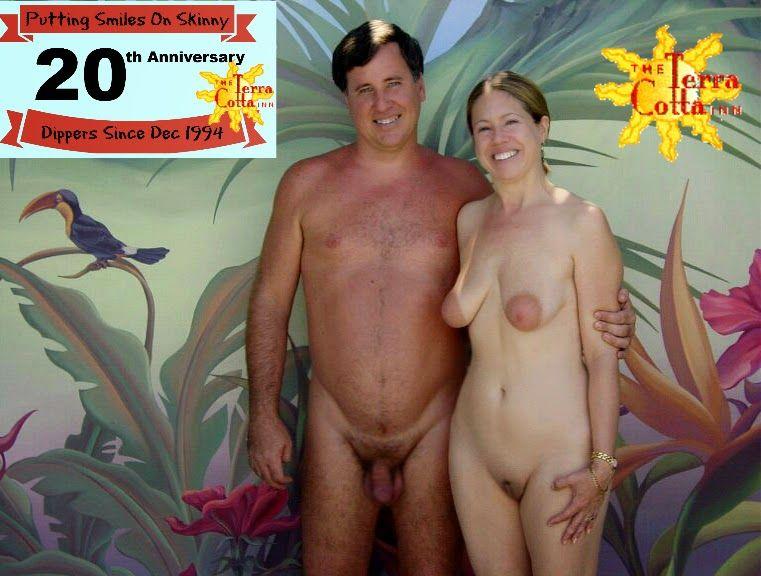 Terra cotta nudist resort