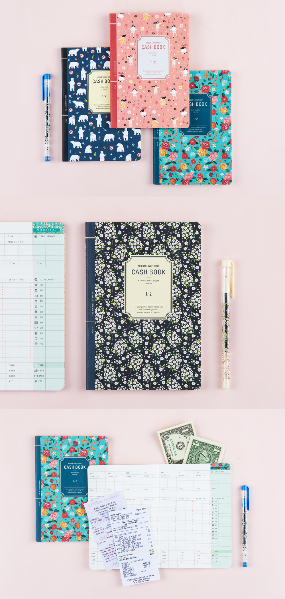 the cutest and most practical way to keep track of your finances