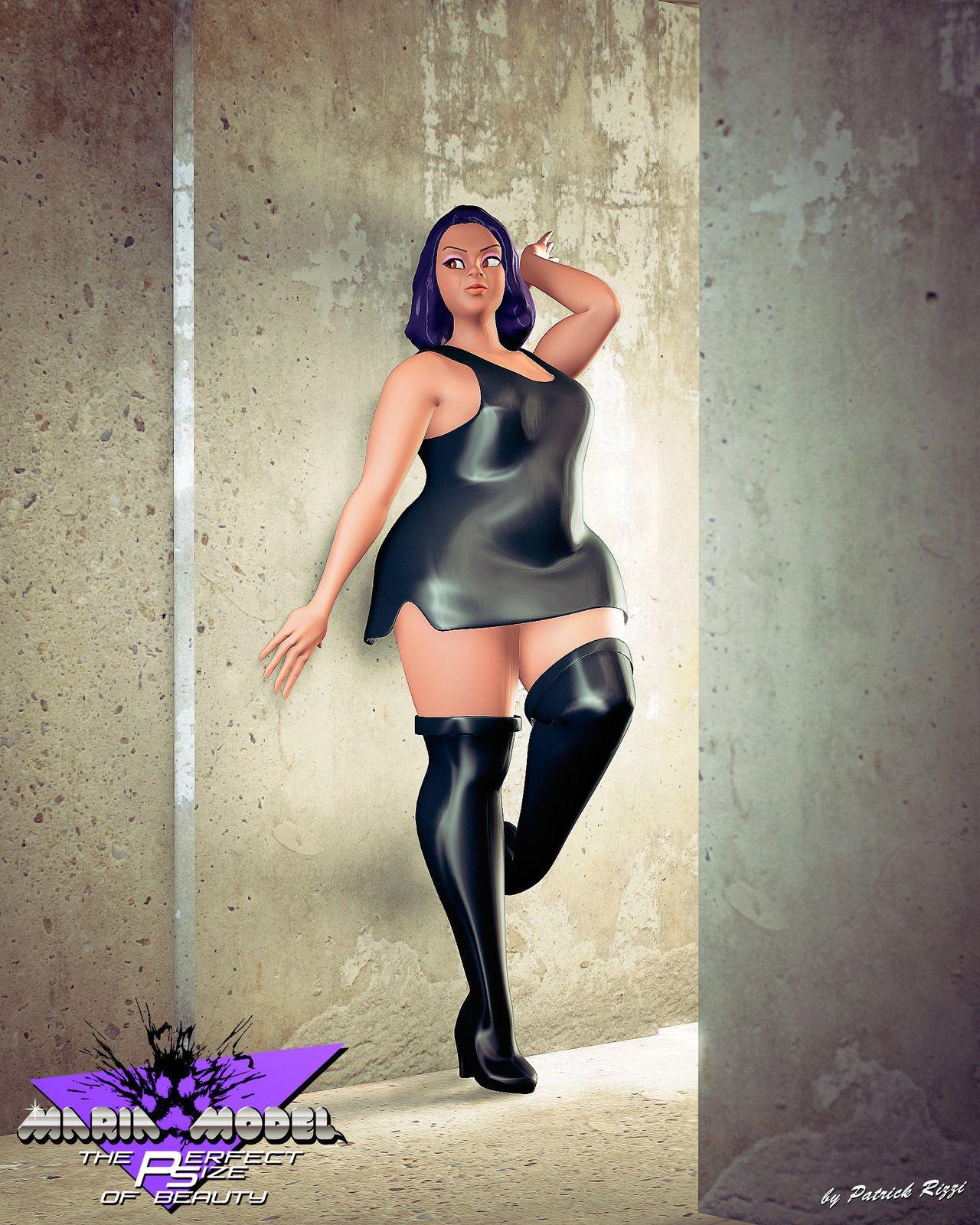 mariablackshiopat.deviantart on @deviantart #curvy #plussize