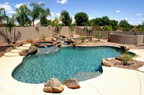 Backyard Designs With Pool view in gallery shape a stunning backyard with the ideal small pooldesign apex landscapes Backyard Swimming Pools Backyard Swimming Pool Design Ideas Trenhomecom Backyard Design With Pool