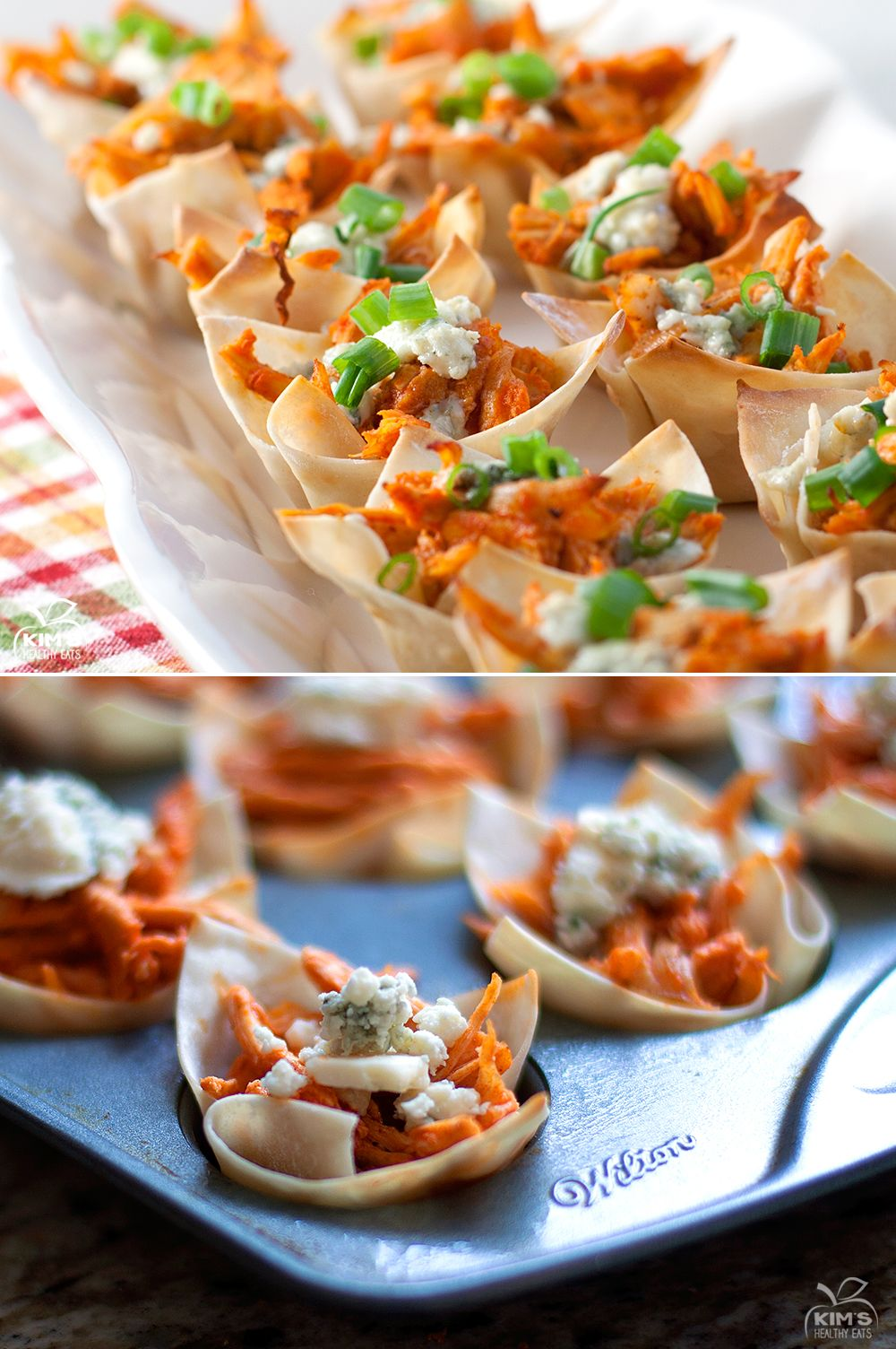 Buffalo Chicken Cups Food, Food recipes, Appetizer recipes