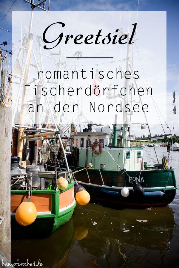 Greetsiel - romantisches Fischerdorf an der Nordsee #blog #reisen #travel
