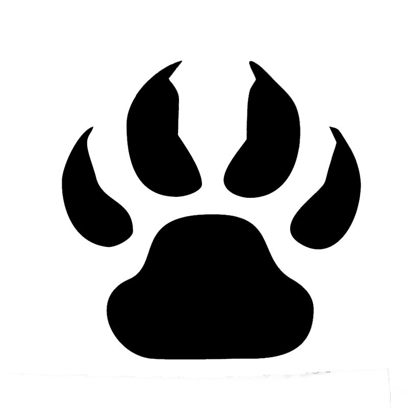 Wholesale Pcslot Pcslot Wolf Paw Print Car Stickers Window - Vinyl decals for cars wholesale