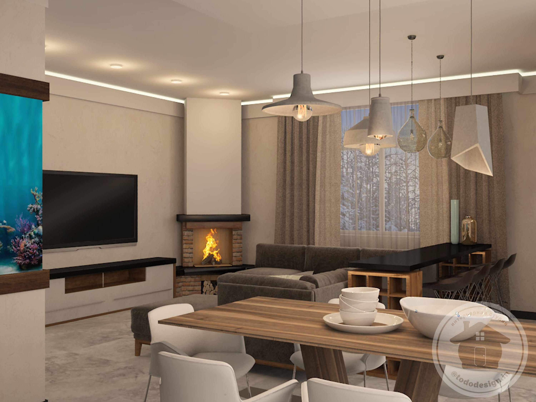 печь камин в гостиной дизайн