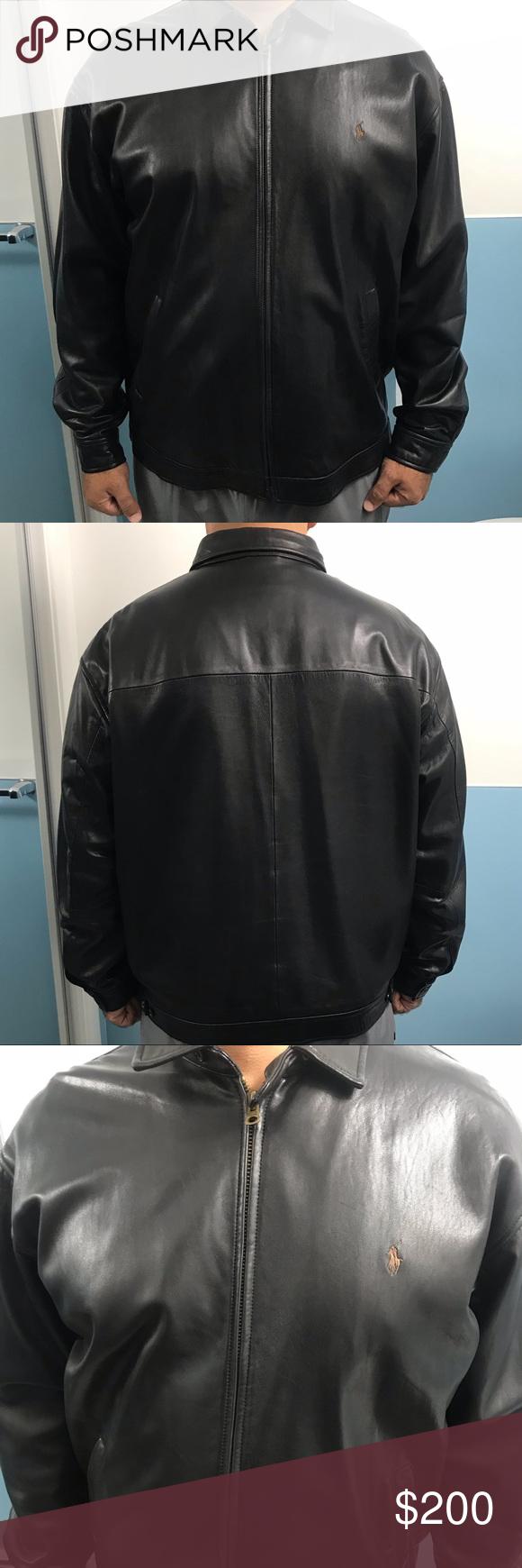 Sold Ralph Lauren Lambskin Leather Jacket Leather Jacket Lambskin Leather Jacket Lambskin Leather [ 1740 x 580 Pixel ]