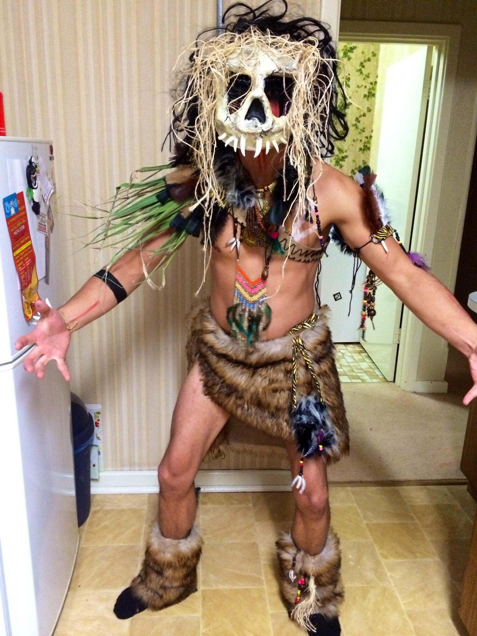 Shaman witch doctor costume … | Pinteres…