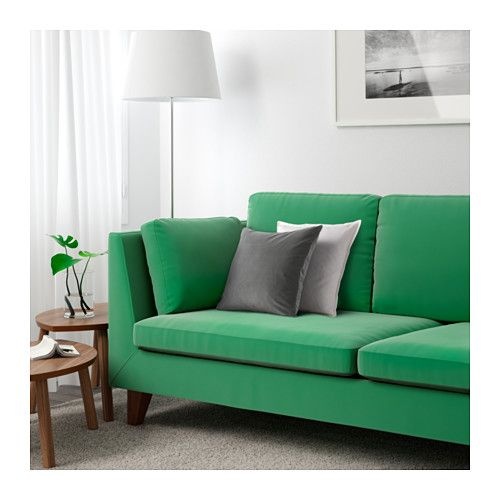 stockholm canap 3 places sandbacka vert ikea fauteuils pinterest fauteuils floride. Black Bedroom Furniture Sets. Home Design Ideas