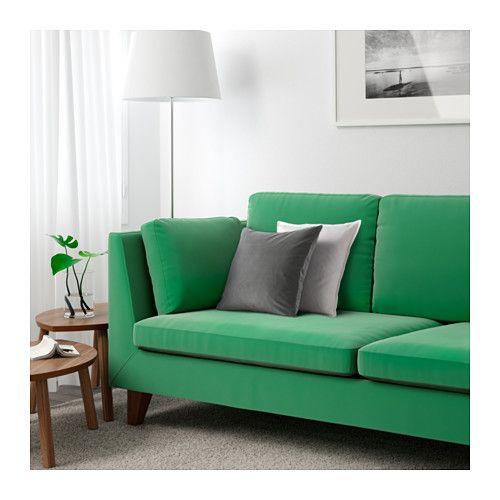 STOCKHOLM Canapé Places Sandbacka Vert IKEA Fauteuils - Fauteuil 3 places