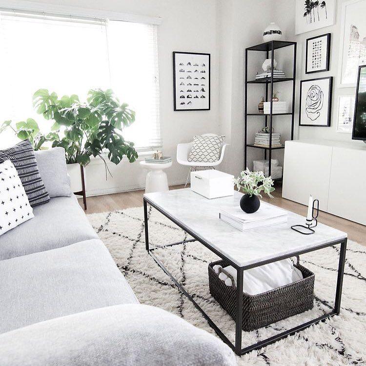 Graues Sofa Farben Weiss Grau Schwarz Wohnzimmer Wohnung