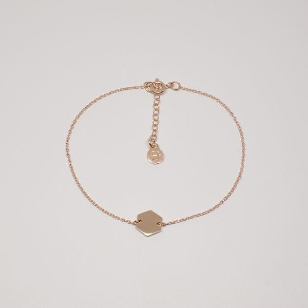 fejn jewelry Armband 'Hexagon'