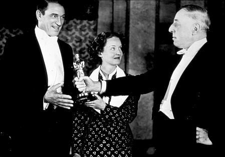Academy Awards: 8th Annual, Victor McLaglen, Bette Davis, and D. W. Griffith…