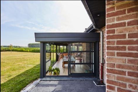 Extension véranda en 2020 | Extension veranda, Véranda contemporaine, Extension maison