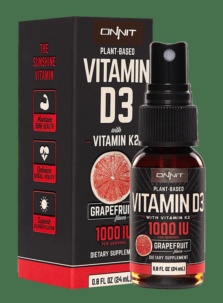 Onnit Labs Total Human Optimization Vitamin K2 Natural Supplements Athletes Diet