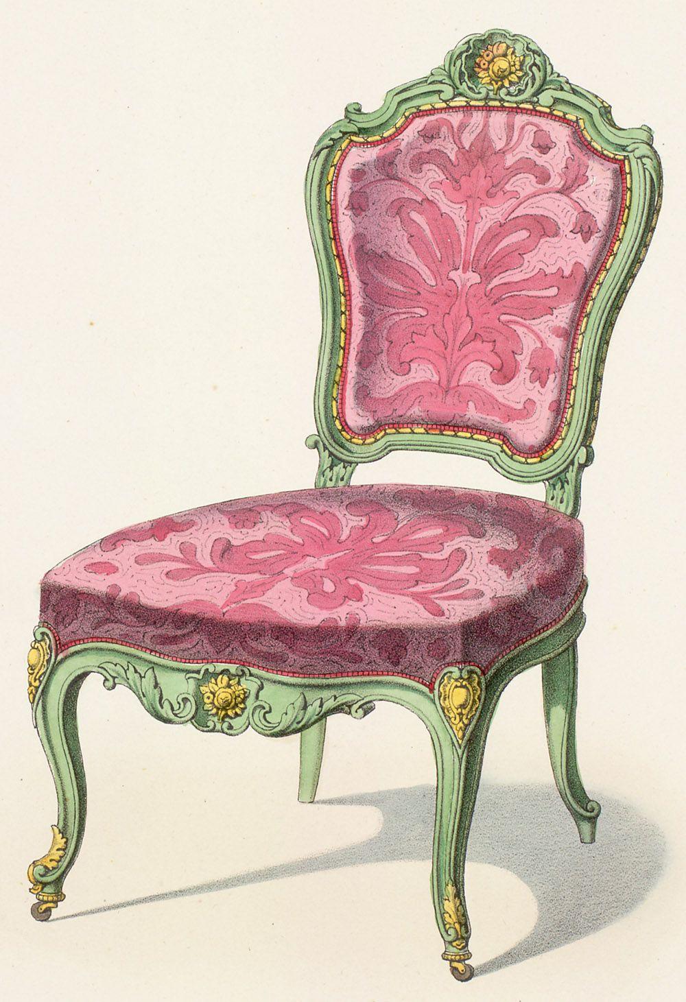 my dream french victorian home 1841 1851 vintage ephemera ii pinterest garde meuble. Black Bedroom Furniture Sets. Home Design Ideas