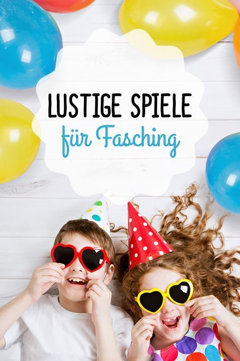 die lustigsten spiele f r kinder faschingspartys fasching pinterest. Black Bedroom Furniture Sets. Home Design Ideas
