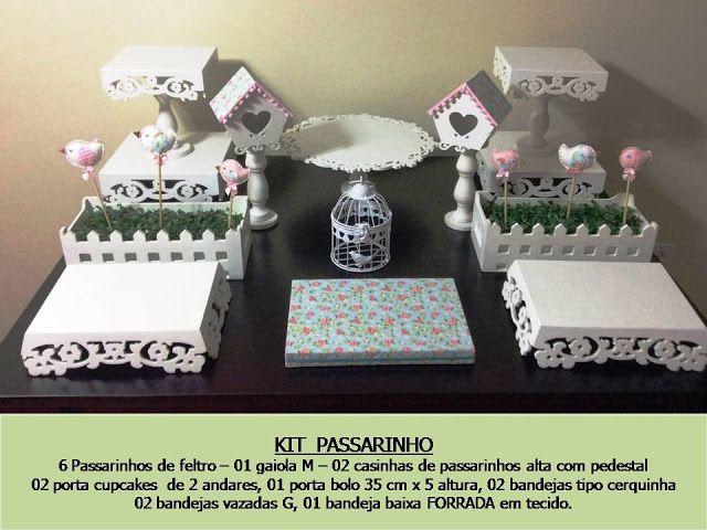casa de passarinho .: Aluguel kits Provençal Porto Alegre