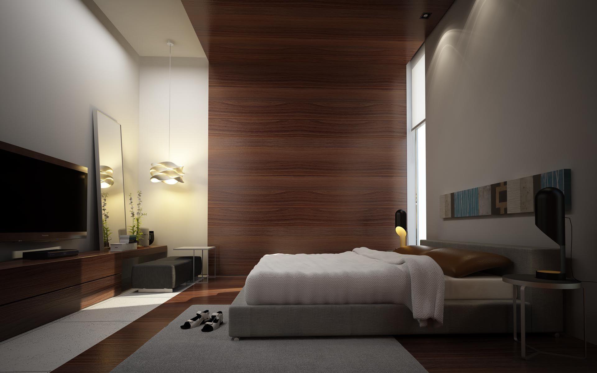 Loves this bedroom interiores for Kasa diseno interior