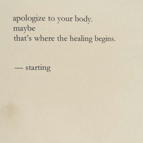Self Love Health Body Quotes Body Posi Positivity