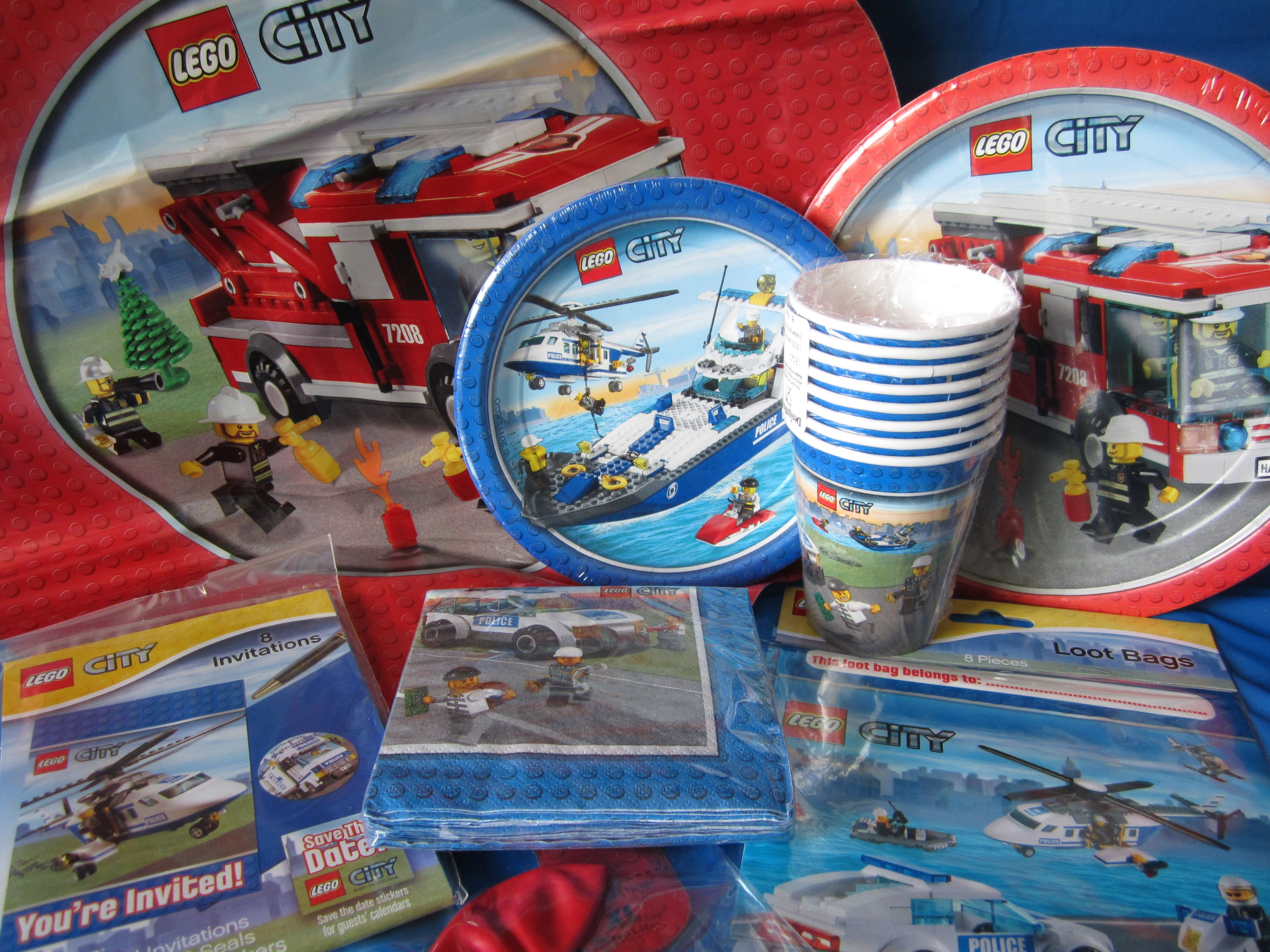 Lego City birthday party supplies | Party in style | Pinterest ...