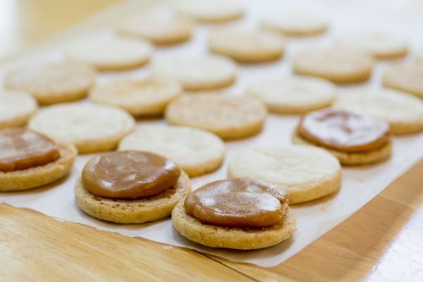 Buttery shortbread cookie recipe