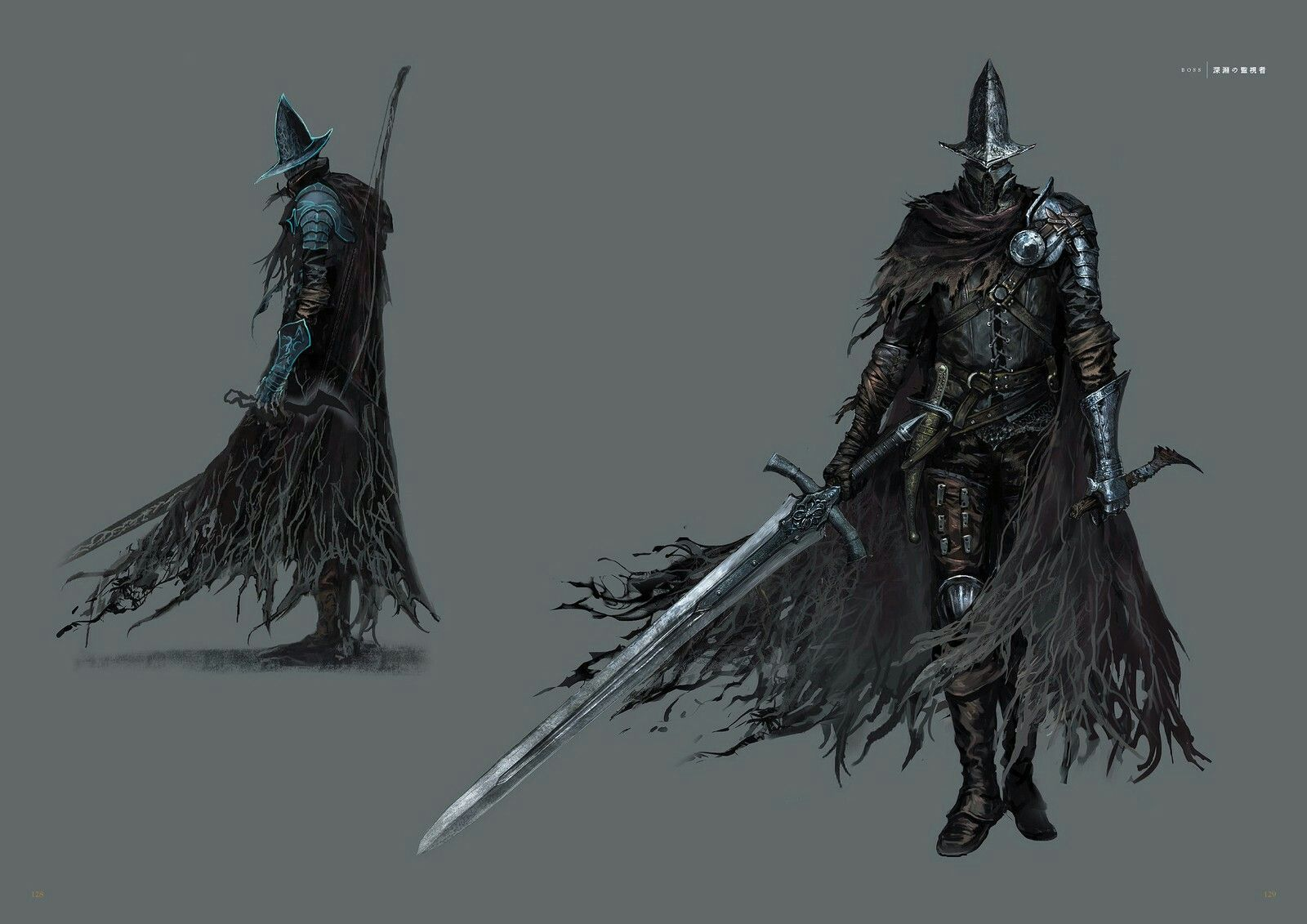 Dark souls 3 concept art abyss watchers concept art - Watchers dark souls 3 ...