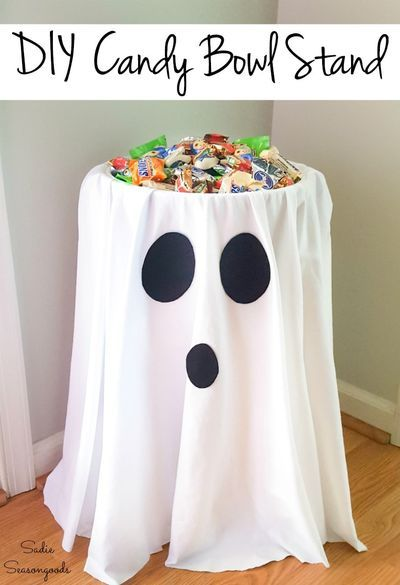 Photo of Alternative Trick or Treat Idea with a Candy Bowl Holder