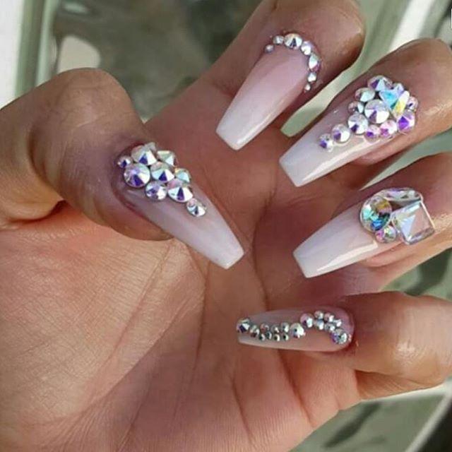 Pin de Bere🎀💄 en Nails♡♡ | Pinterest | Uñas acrílico, Diseños de ...
