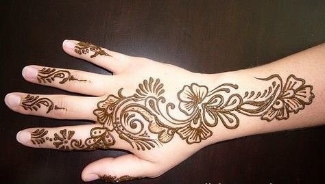 Pics For > Mehndi Patterns For Children