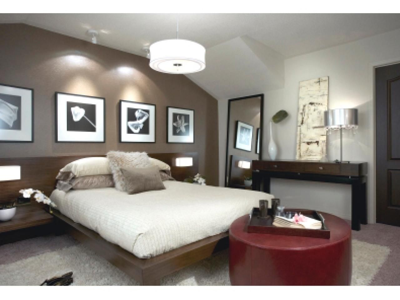 Master bedroom accent wall   Divine Master Bedrooms by Candice Olson  Hgtv and Master bedroom