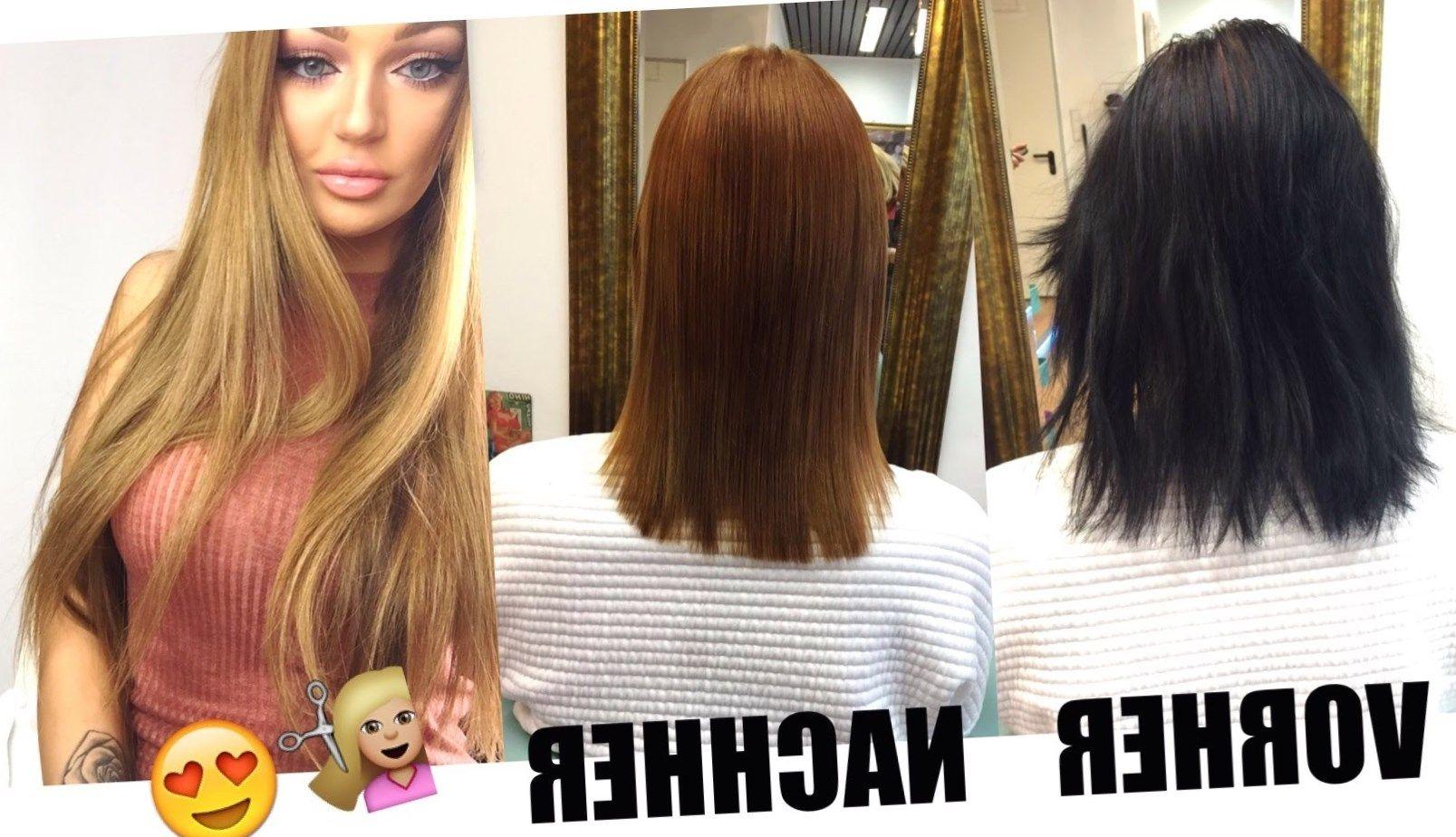 Braune haare heller farben