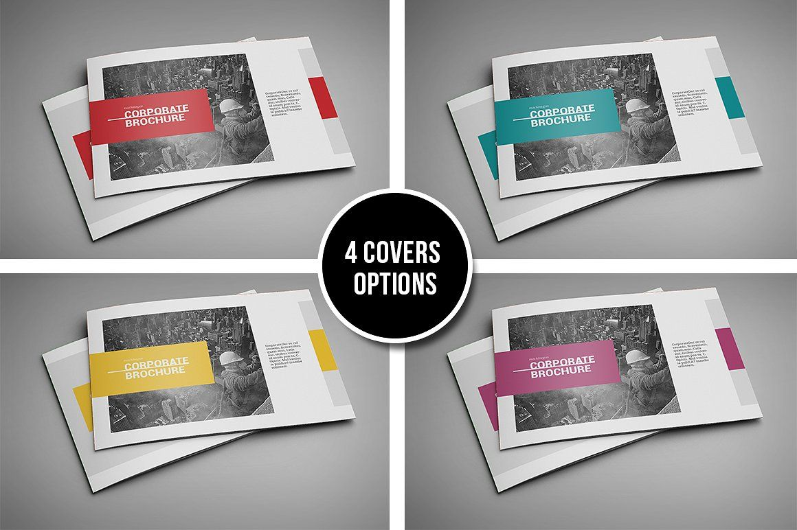 Booklet Brochure Template Vector Illustrations Inspiration