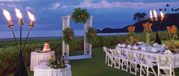 Kaanapali Beach Hotel Wedding Location On Maui