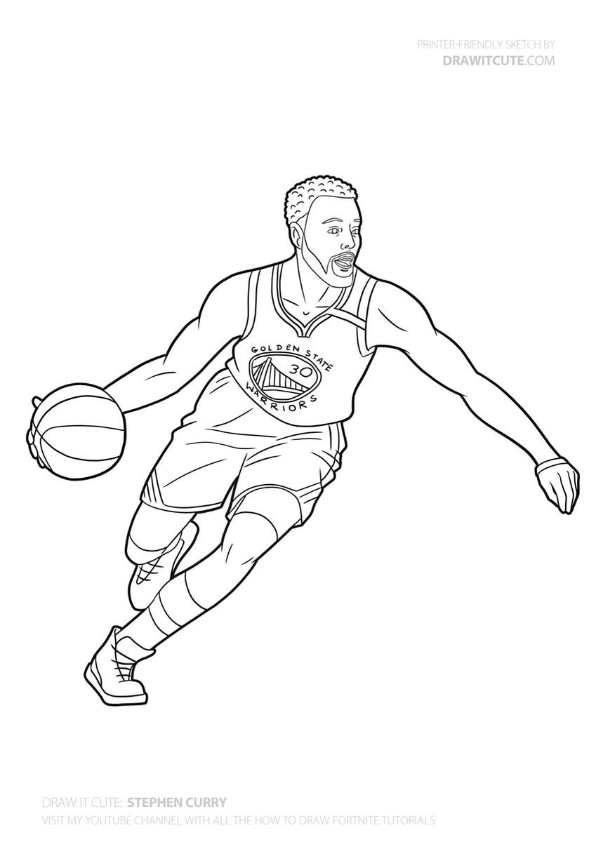 Stephen Curry #nba #nbaplayoffs #nbaplayers #draw #drawings