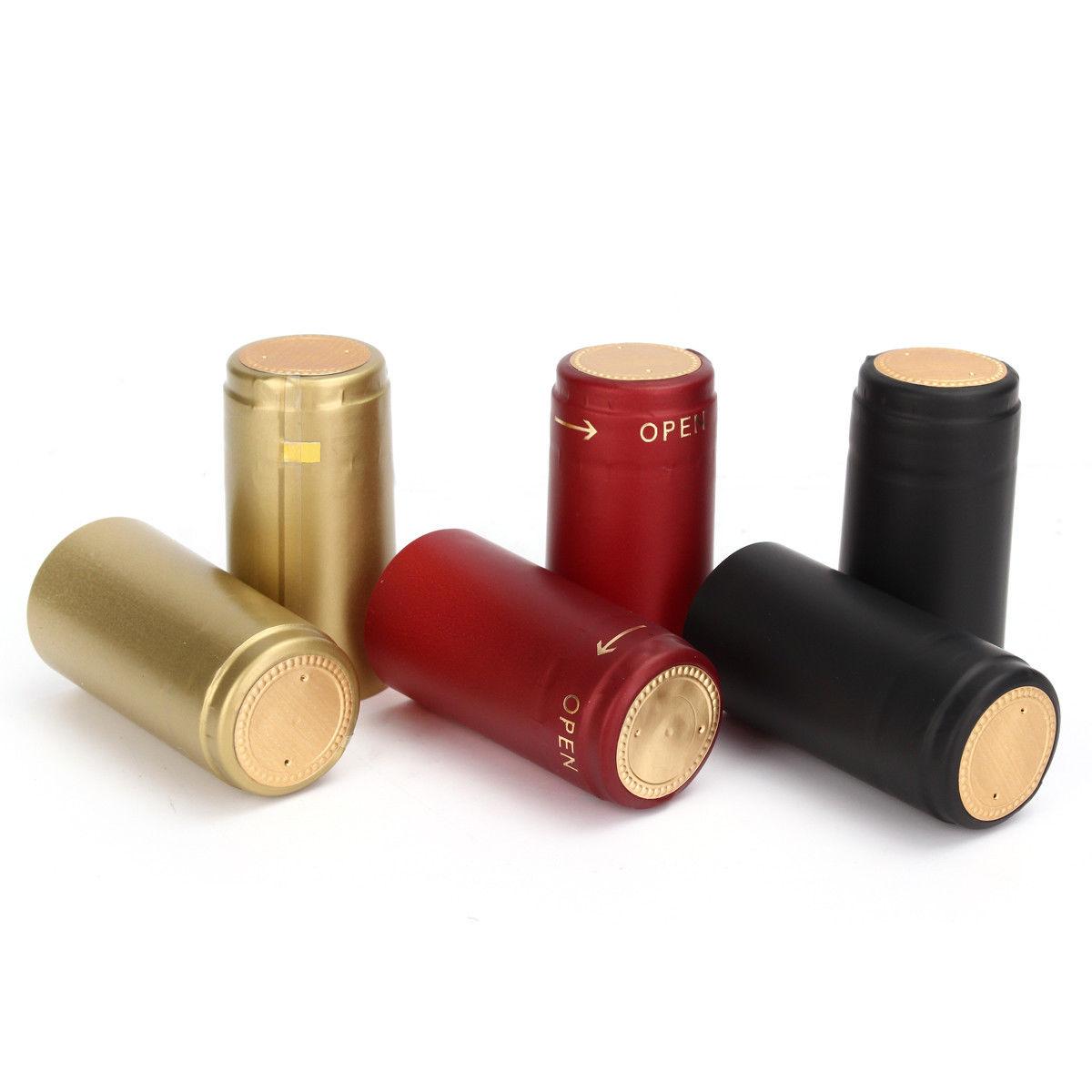 6 14 100 Pcs Pvc Tear Tape Wine Bottle Heat Shrink Cap Sealing Cover Home Brew Ebay Home Garden Bottle Wine Home Brewing