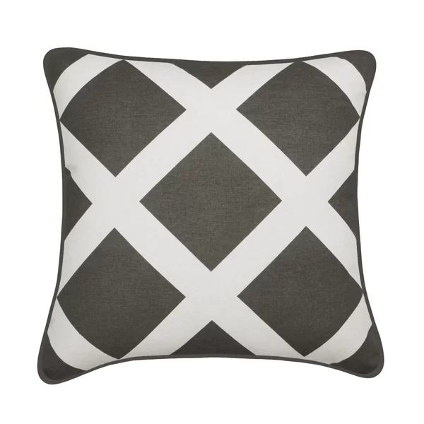Wessel Square Cotton Pillow Cover And Insert Cotton Throw Pillow Chenille Throw Pillows Silk Throw Pillows