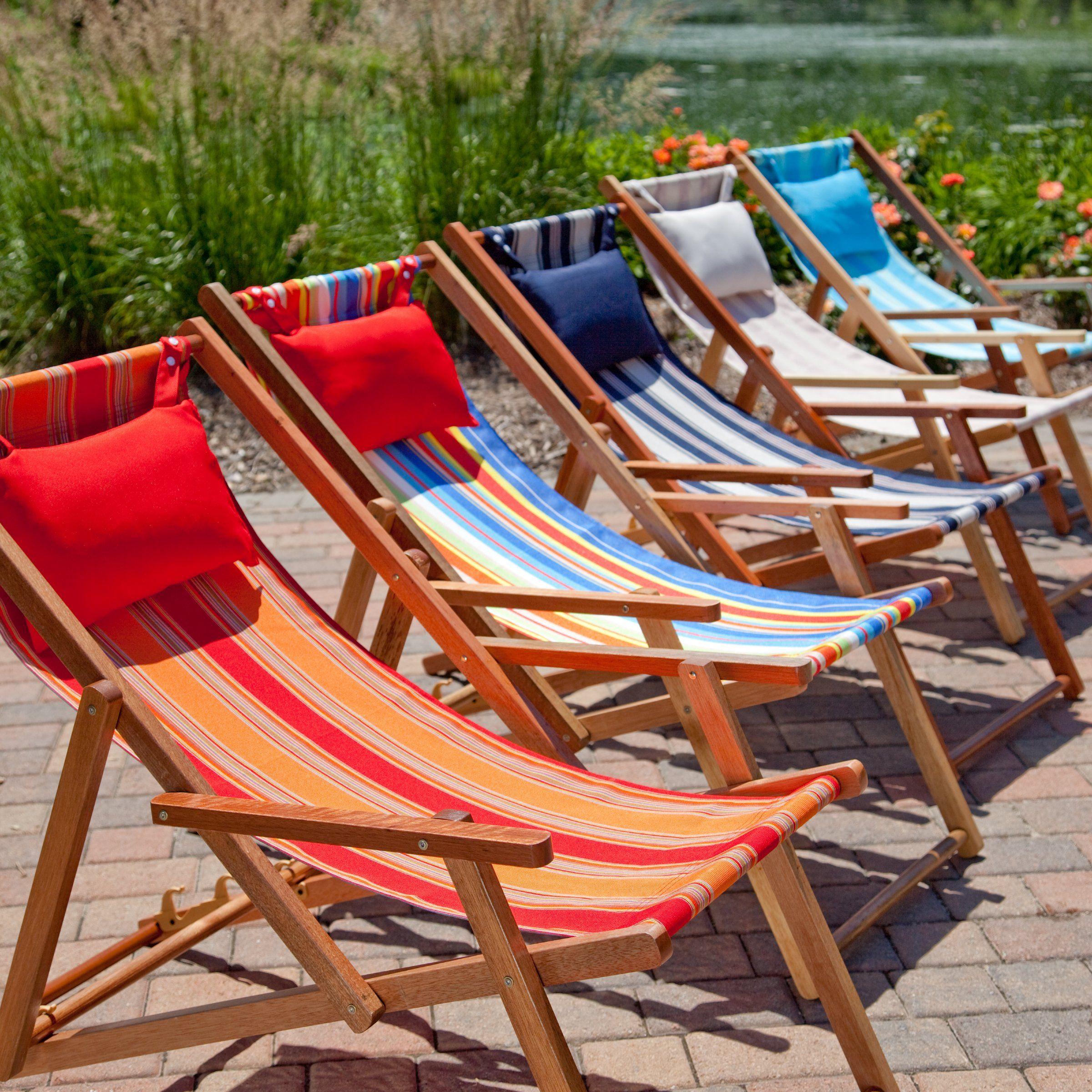 Island Bay Deck and Beach Chair Lounger Beach Chairs at