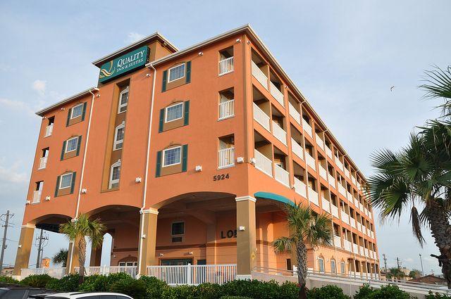 Quality Inn Suites Beachfront Galveston Hotels Beachfront