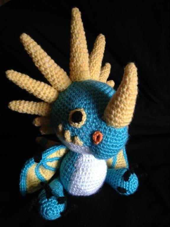 How to Train Your Dragon Stormfly   Häkeln, Amigurumi und Monster