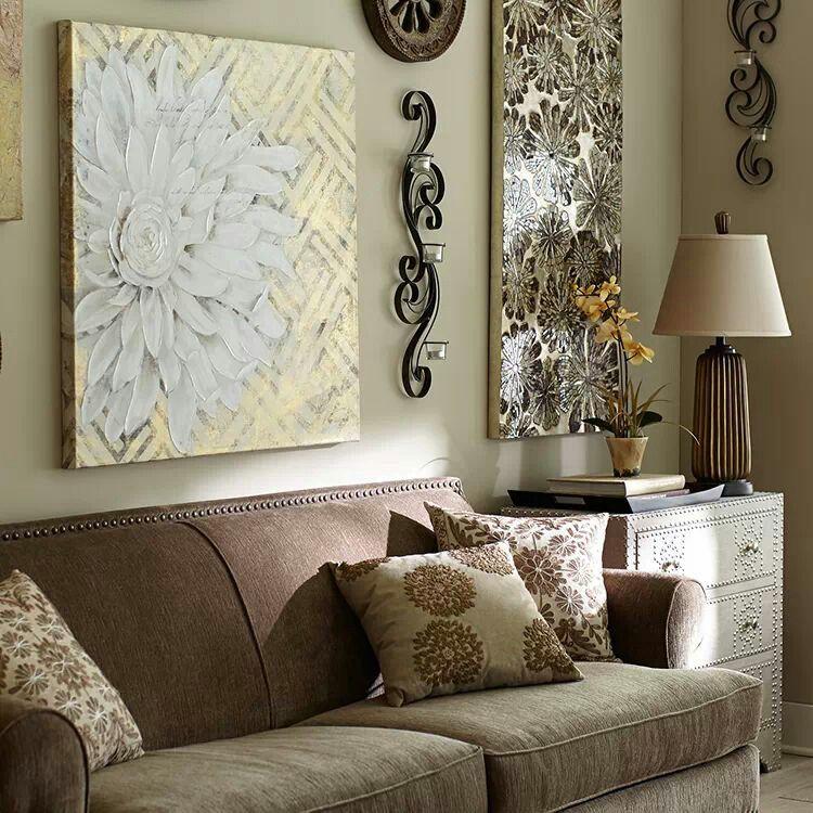 Living room | Living wall decor, Wall decor living room, Decor