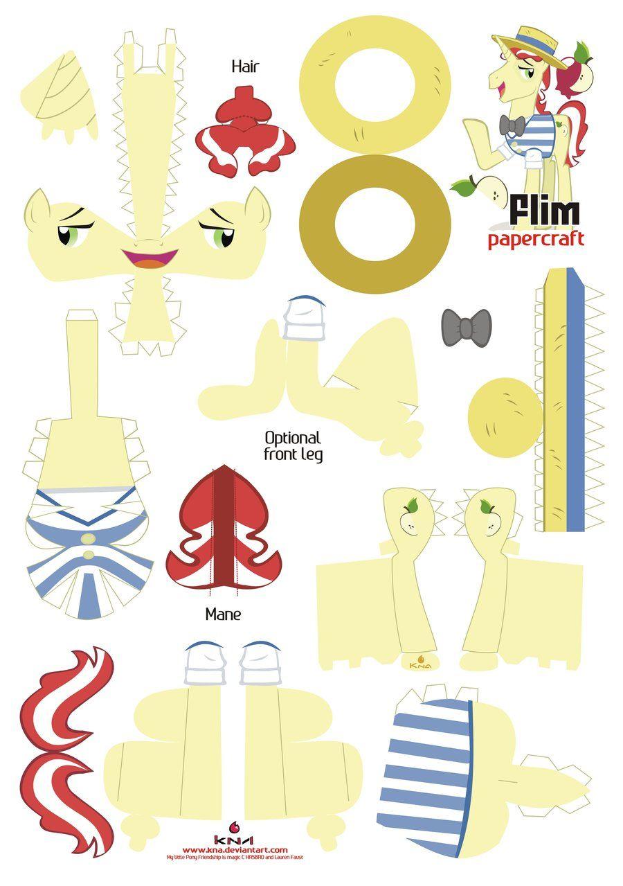 Flim Papercraft Pattern by Kna.deviantart.com on @deviantART