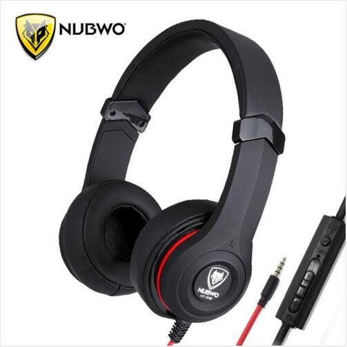 4180afef9d7 NUBWO NT-910 Single Jack Headset With Mircrophone For Cellphone Tablet PC