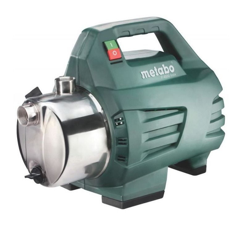 Metabo Pompe De Jardin P 4500 Inox In 2020 Submersible Pump