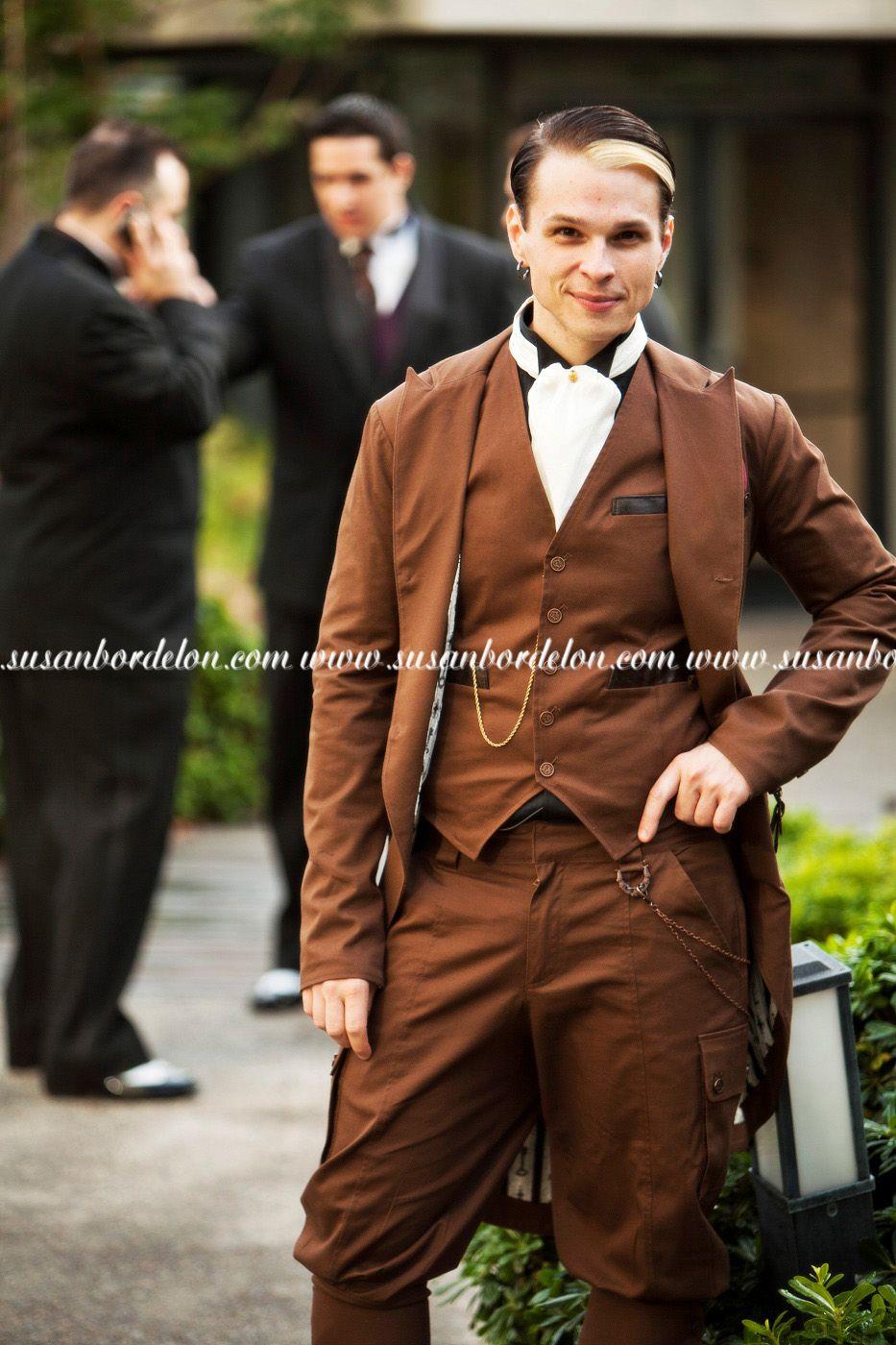 steampunk themed wedding suit | Weddings, Weddings, Weddings ...